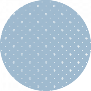 Blue and White Dot Pattern