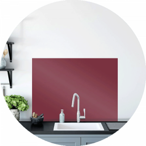 Burnt Skies Glass Splashback