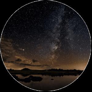 Dark Auburn Sky