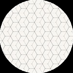 Hexagon Grey Scale Pattern
