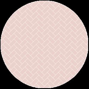 Pink Herringbone Splashback