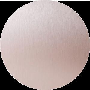 Rose gold Aluminium Splashback Sample