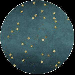 Stars on Teal