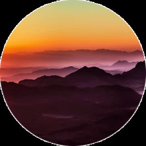 Sunset at Mount Sinai