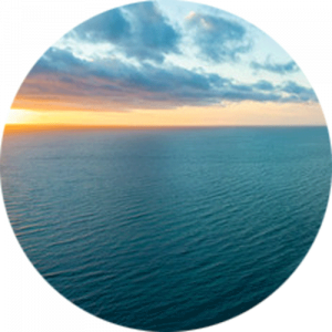 Teal Seascape
