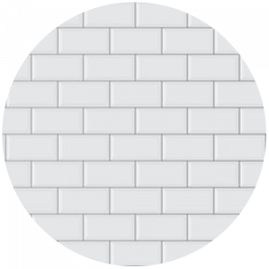 White Printed Tile